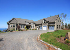 Stunning Oceanfront Estate With Views of the Bay of Fundy