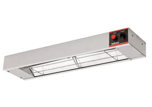 Winco ESH-24, 24″ Electric Strip Heater, 500W, 4.2A, Commercial Grade Infrare...