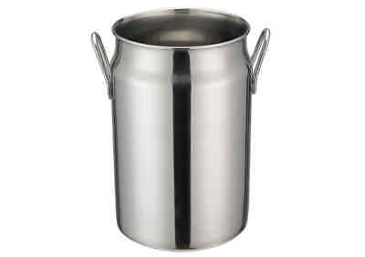 Winco Ddsd-104s 5-inch Dia Stainless Steel Mini Milk Can 2 Handles