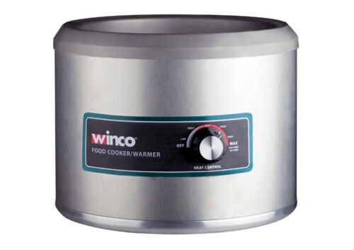 Winco FW-11R500, 11-Qt Electric Round Food Cooker/Warmer, 120V~60Hz, 1250W, 10.5
