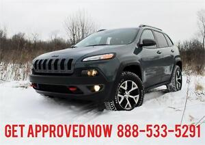 2014 Jeep Cherokee Trailhawk 4x4 ~ Financing!!! Now!!! $216 B/W