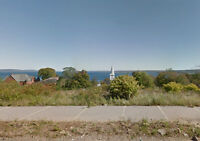 Beautiful Lot with Ocean Views and Town Services and Amenities