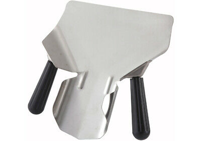 Winco Stainlesssteel French Fry Bagger Right Handle Scoop For Deep Fryer Popcorn