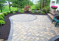 Interlock driveways, patio's, steps, walkways