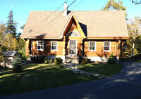 Great Log Home on 14+ Acres with ATV Trails & More