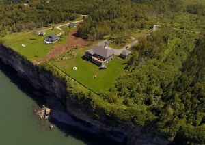 70 Fundy Bay Victoria Harbour 4 Bdrm Oceanfront on Bay of Fundy!