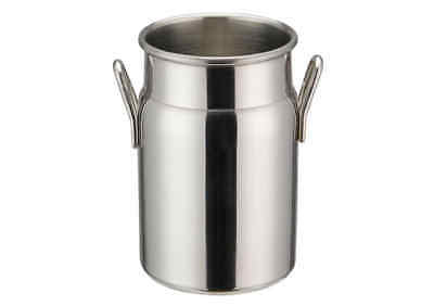 Winco Ddsd-102s 3-18-inch Dia Stainless Steel Mini Milk Can 2 Handles