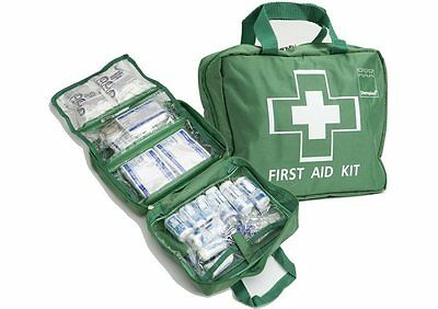 70+ Pieces - Luxury FIRST AID KIT Bag, Includes Ice packs - Travel, Home, Car