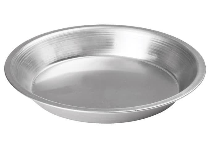 Winco APPL-8, 8-Inch Aluminum Pie Pan, NSF