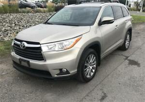 2015 TOYOTA HIGH LANDER XLE  MINT CONDITION