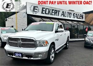 2016 Ram 1500 Big Horn Eco Diesel 4X4 WITH REVERSE CAMERA
