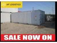 20' 40' USED SHIPPING CONTAINERS GRADE A CONDITION DELIVERY NATIONWIDE WITH WARRANTY