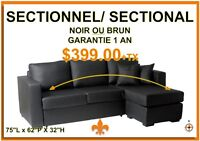 Sofa sectionnel neuf/New sectional/Futon $300.00