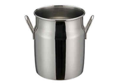 Winco Ddsd-103s 4-inch Dia Stainless Steel Mini Milk Can 2 Handles