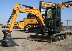 SANY SY35U Mini Excavator *Finance Deals Available OAC* low hour