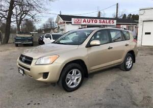 2009 Toyota RAV4 Certified/Automatic/4 Cylinder/All Wheel Drive