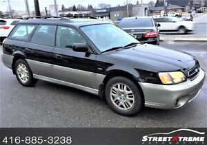 2003 Subaru Outback H6-3.0 VDC AWD, LEATHER INTERIOR, MOONROOF