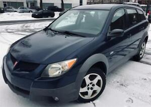 2003 PONTIAC VIBE AUTO/AC/MAGS/WINTER,TIRES/CLEAN!