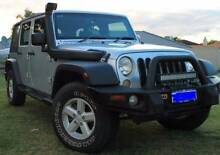 2007 Jeep Wrangler Unlimited Convertible Lathlain Victoria Park Area Preview