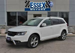 2017 Dodge Journey Crossroad ALL WHEEL DRIVE LEATHER NEW TIRES
