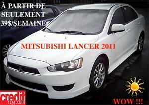 2011 Mitsubishi Lancer SE, À PARTIR DE 39$/SEM. 100% APPROUVÉ !!