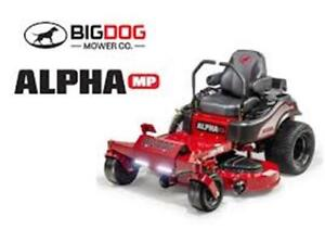 "BIGDOG ALPHA MP Lawnmower 36"", 42"", 48"", 54"", 60"""