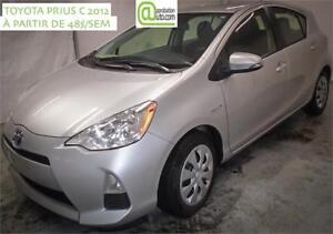 2012 Toyota Prius c Technologie, À PARTIR DE 48$/SEM. 100% APPRO