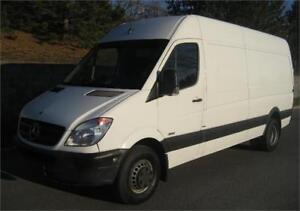 "2013 MERCEDES-BENZ SPRINTER 3500 170"" HIGH ROOF (141,000/KM+AIR)"