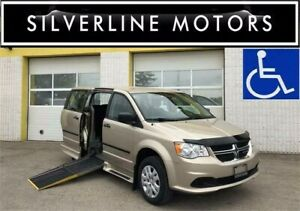 2015 DODGE GRAND CARAVAN, WHEELCHAIR VAN, POWER RAMP, SIDELOAD!