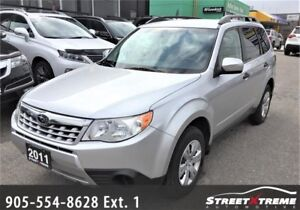 2011 Subaru Forester X Convenience|ACCIDENT FREE|AWD|BLUETOOTH