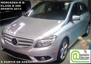 2013 Mercedes-Benz Classe-B B 250 , à partir de 53$/sem.100% app