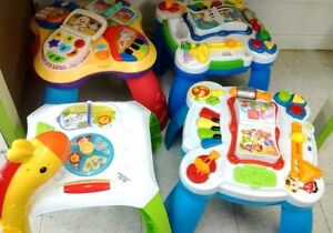 Fisher Price Leap Frog activity tables
