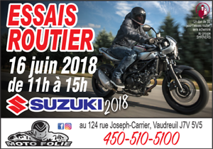 suzuki v-strom 650 demo ride 16 juin 2018