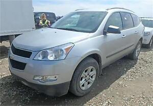 2011 CHEVROLET TRAVERSE AWD AUTO LOADED 8 SEATER 100% FINANCING!