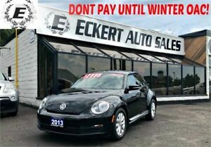 2013 Volkswagen Bettle Coupe Comfortline with Bluetooth