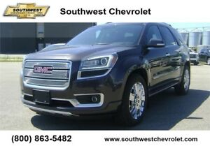 2015 GMC Acadia Denali AWD, 102100km, Leather, Sunroof