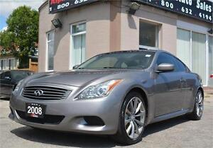 2008 INFINITI G37 Coupe Sport *NO ACCIDENTS|CERTIFIED & WARRANTY
