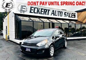 2012 KIA RIO LX HATCHBACK MANUAL WITH BLUETOOTH