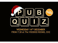 Pub Quiz - Christmas special at The Voodoo Rooms