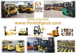 forklift CHARIOT ELEVATEUR TOYOTA  CAT YALE RAYMOUND HYSTER USED