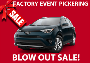 2018 RAV4 Blow out SALE! *300$ Over Cost Kijiji EXCLUSIVE*