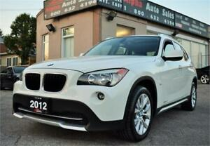 2012 BMW X1 X-Drive 28i *ONLY 75k KM* NO ACCIDENTS - CERTIFIED*