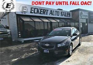 2014 Chevrolet Cruze 1LT WITH BLUETOOTH