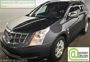 2010 Cadillac SRX 3,0 Luxury, À PARTIR DE 63$/SEM.100% APPROUVÉ