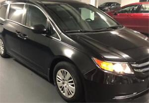 2014 Honda Odyssey LX/No Accident/Backup Cam/BT/7 Passengers