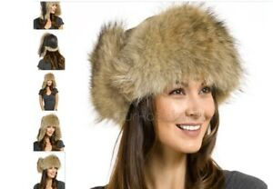 Genuine Coyote Fur  and Leather Aviator Hat (men/women)