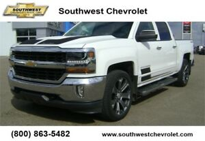 2016 Chevrolet Silverado 1500 LT Crew 4x4, Leather, 69100km