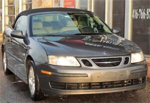 2007 Saab 9-3 Auto*CONVERTIBLE*LEATHER*2L*4CYL