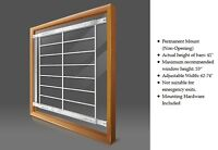 Window Security Bars - Adjustable