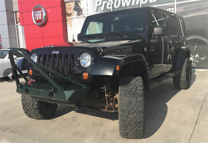 2013 JEEP WRANGLER SAHARA AUTO LIFTED, CHECK IT OUT !!